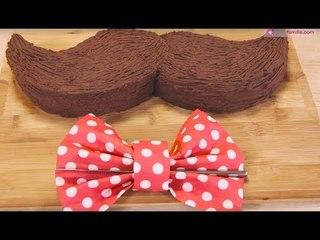 Gâteau Moustache spécial Fête des Pères
