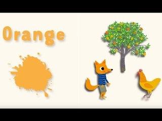 Apprendre les couleurs avec Pinpin et Lili - Le orange