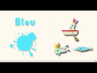 Apprendre les couleurs avec Pinpin et Lili - Le bleu