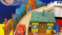 La navigation de plaisance des voitures foudre école éponge Bob léponge pantalons carrés jouets piste piste disney grain McQueen 2