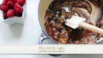 Chocolat entaille recette spécial Saint valentin souffle | | sarafs foodlog