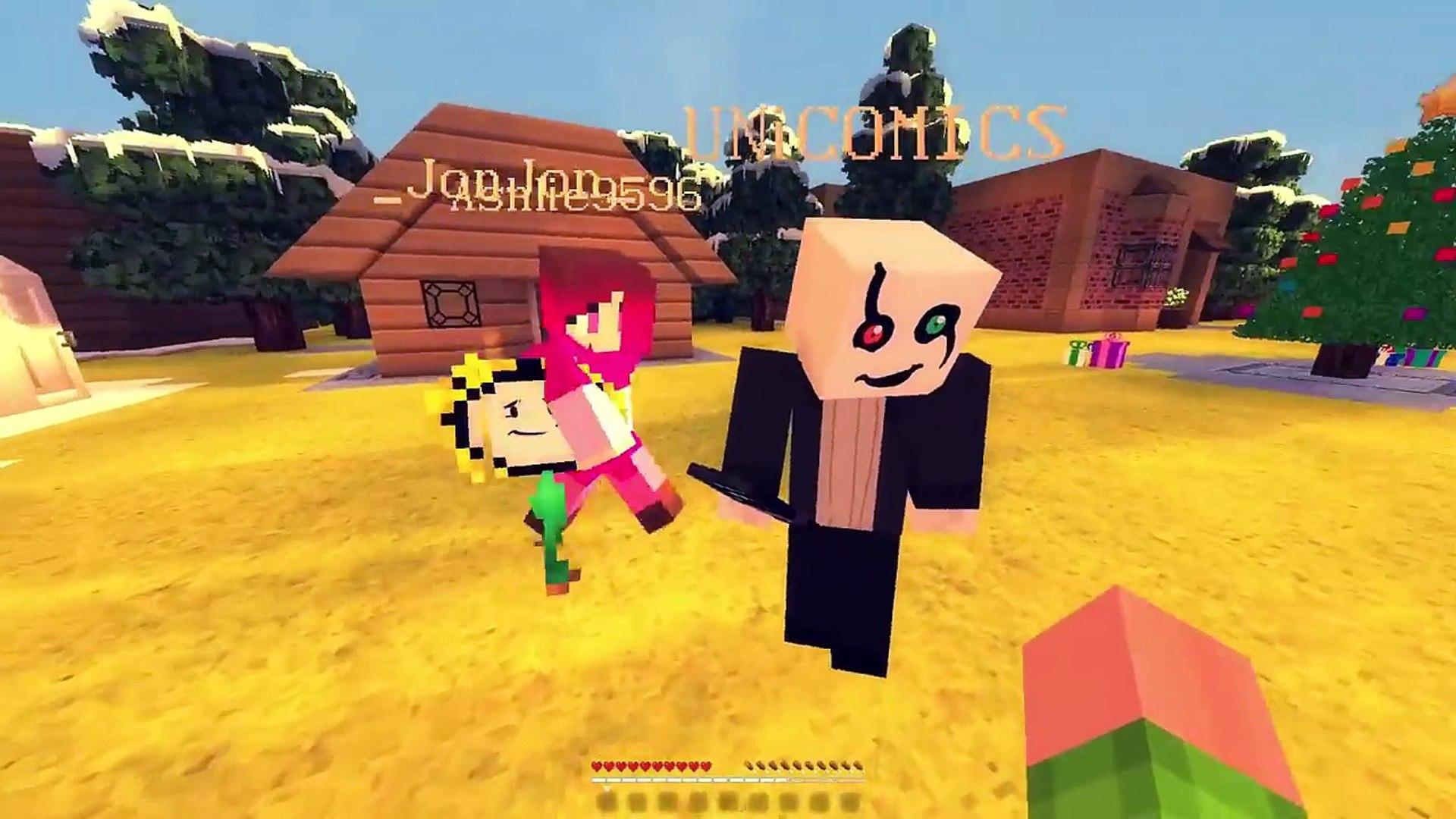 FRISK MEETS BETTY! Minecraft GLITCHTALE! UNDERTALE AU (Minecraft Undertale Roleplay)