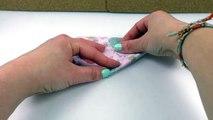 Süßes Herz falten _ DIY Idee für Kinder _ Basteln für die Lieben _ Va