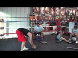 Olympian Lindolfo Delgado and Pita fitness - EsNews Boxing