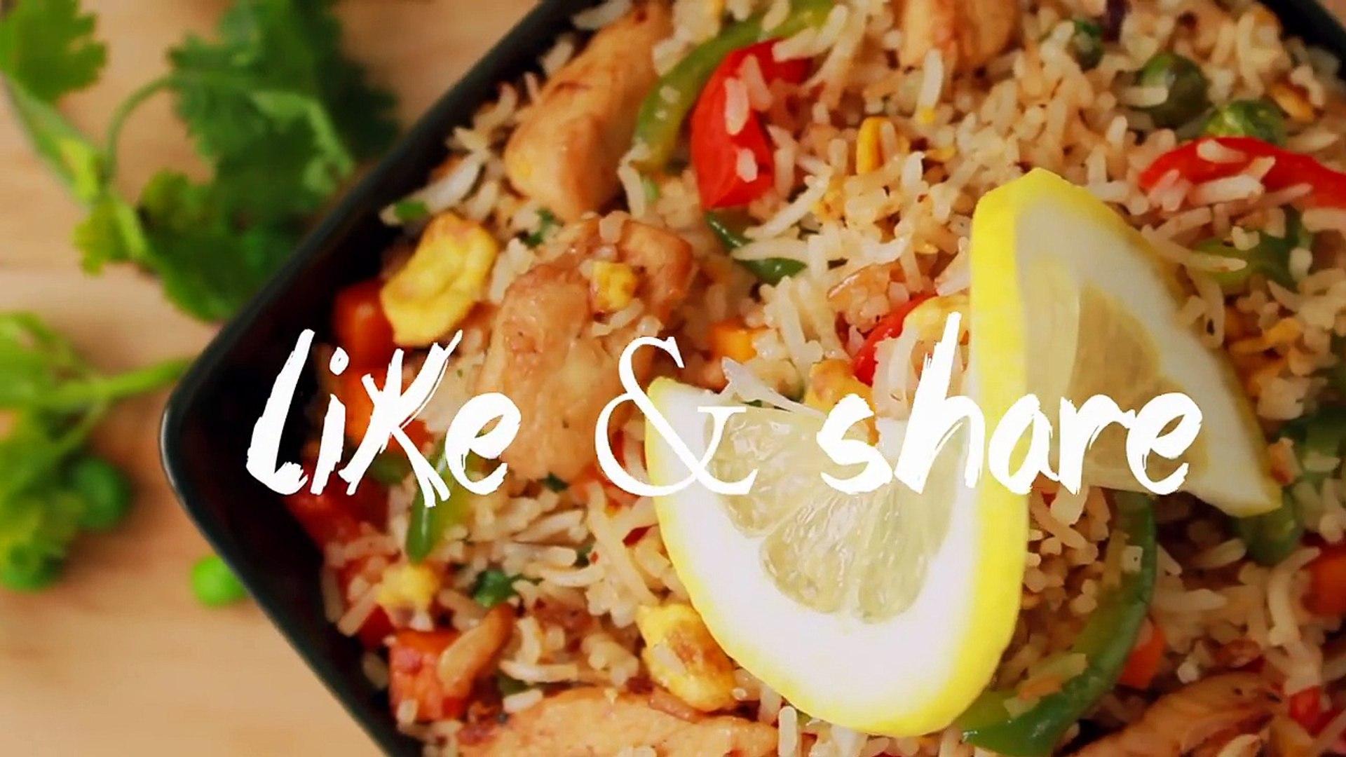 রেস্টুরেন্ট স্টাইল চিকেন ফ্রাইড রাইস   Chicken Fried Rice   Bangladeshi Fried Rice Recipe