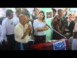 Aung San Suu Kyi attends Min Ko Naing's birthday ceremony