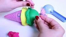 Crème de la glace jouer pâte à modeler sucettes glacées écopes jouets friandises Doh playdough n hasbro playset