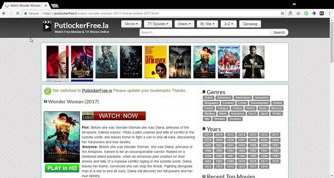 How To Watch Movies / Tv Show Latest Episode On PutlockerFree