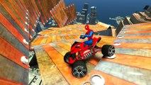 Et à enfants couleur les couleurs amusement amusement ayant homme garderie rimes chansons Araign? e Spidermans atv