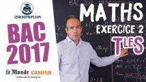 Bac s 2017 : corrigé de Maths (Exercice 2)