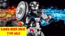 Kamen rider drive Type wild   仮面ライダードライブ野生型  