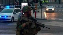 """التعرف على هوية منفذ """"هجوم إرهابي"""" في محطة قطارات في بروكسل"""