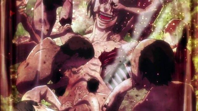 EREN CONTROLS TITANS?! Attack on Titan Season 2 Episode 12 [1080p HD]