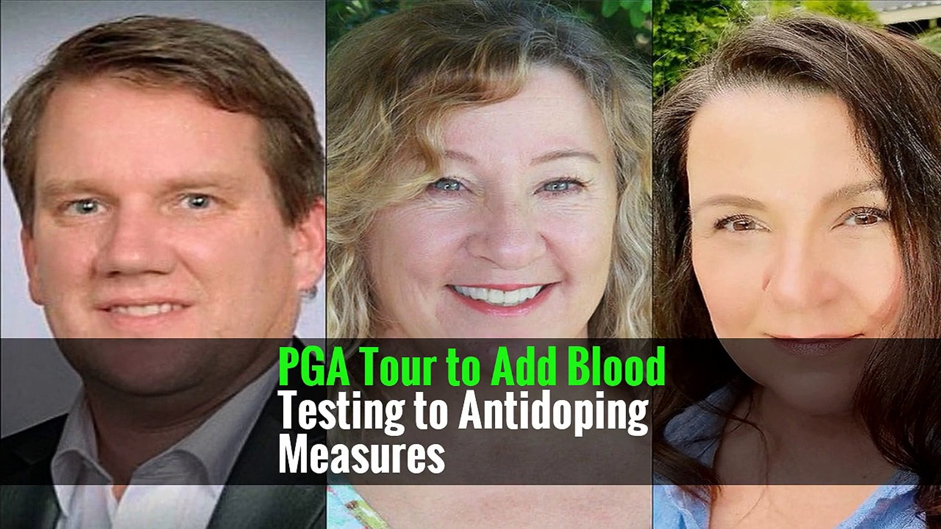 PGA Tour to Add Blood Testing to Antidoping Measures