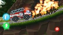 Machines clin doeil dessins animés dessin animé pro feu de voiture multik.pro camion incendie de camion