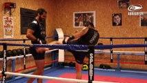 Préparation physique : séance de boxe