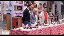 Le meilleur pâtissier célébrités : Mercotte consternée par le niveau de Vincent Moscato (vidéo)