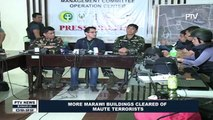 More Marawi Buildings cleared of Maute terrorists