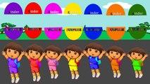 И Дети Цвет цвета цвета Дора Проводник для Узнайте сюр в Кому в Это с Кубо