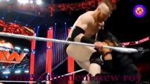 WWE RAW 13_5_2017 Roman Reigns attack Stephanie McMahon and Mr McMahon See Whats