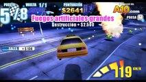 Fr dans et 20 jeu de voiture de course de voiture de police voiture narco en taxi jaune participer coursive