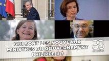 Qui sont les nouveaux ministres du gouvernement Philippe II ?