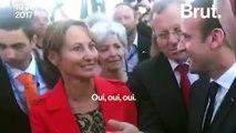 Au salon du Bourget Emmanuel Macron s'affiche avec Thomas Pesquet