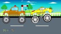 Apprentissage les couleurs avec requin un camion et remorquer un camion apprentissage vidéo pour enfants