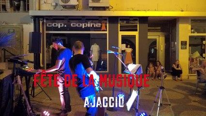 Vidéo. La fête de la Musique à Ajaccio