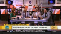 Scottie Pippen On How 17 Warriors Would Do Against 96 Bulls | NBA The Jump | June 6, 201