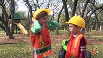 Little Builders 5 - The Smasher Returns, Kids Ride On Construction Trucks & Toy Building B