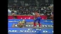 P. Aguayo Jr and Sr/Konnan/R. Misterio Jr vs C. Caras/Pierroth/J. Guerrera/H. Metal (AAA 9/1/96)