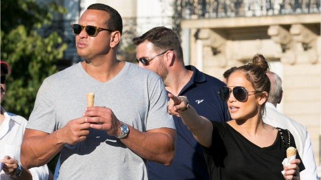 Jennifer Lopez's Partner Alex Rodriguez Is Swimming With Sharks!
