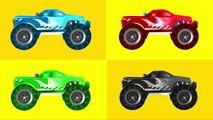 Les couleurs couleurs pour heure enfants Apprendre monstre enseigner remorquer un camion camions Collection 1 police ba