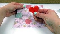 Süßes Herz Falten Diy Idee Für Kinder Basteln Für Die