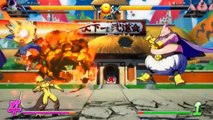 Dragon Ball FIghterz Demo Gameplay #1   Vegeta, Gohan, Frieza vs Perfect Cell, Goku, Majin