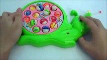 Câu cá trò chơi cho bé bộ lớn - Fishing Game Toy for Kids - おも�