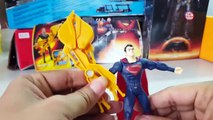 Demolition Claw Superman and Laser Sight Superman -