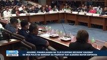 Aguirre, pinabulaanan na 'Flip-flopping Decision' kaugnay sa mga pulis na sangkot sa pagpatay kay Albuera Mayor Espinosa