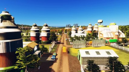 PS4 announcement trailer de Cities Skylines