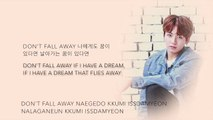 BTS Suga, Jin, & Jungkook so far away (SUGA, 진, 정국 Ver.) [Han Rom Eng lyrics]