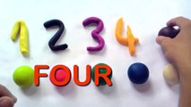 Learn To Count 1 to 10 - Play Doh Numbers - Counting Numbers - Learn Numbers for Kids Toddlers Ch