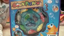 Gone Fishing Toy Review - Let's Go Fishing with SISreviews! Funny game for kids