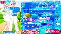 Permainan Elsa Frozen dan Jack Berdandan/Berpakaian - Elsa Mengandung/Hamil - Online Games