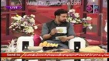 Breaking News: Noor Se Host Ne Kia Sawal Kia K Inhien Gussa Aagaya ??