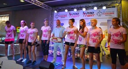 Girl Power 3 Sunny Beach - Weigh-in