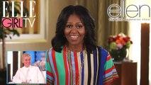 Le message de Michelle Obama à Ellen   The Ellen DeGeneres Show   Du Lundi à Vendredi à 20h10   Talk Show