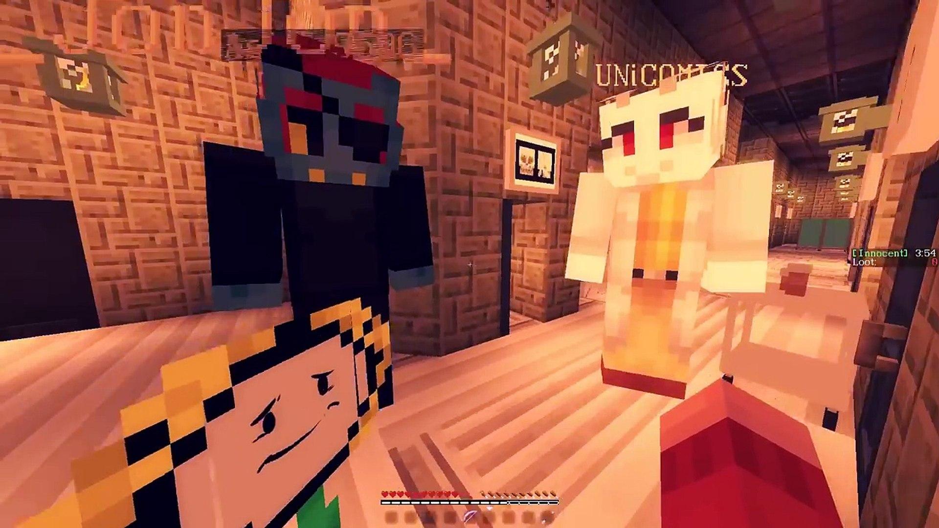 SANS SEES PAPYRUS! Minecraft ASYLUMTALE! UNDERTALE AU (Minecraft Undertale Roleplay)