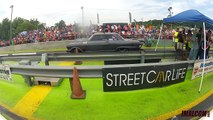 STREET OUTLAWS DADDY DAVE GOLIATH 2.O VS CHUCKS DEATH TRAP AT BRAINERD MOTORSPORTS PARK!