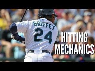 Ken Griffey Jr. Hitting Mechanics - Baseball Swing Analysis